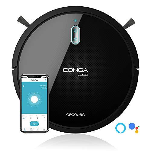 Robot Aspirador Cecotec Conga 1090 Connected Force.Alexa Google Home (Reaco)