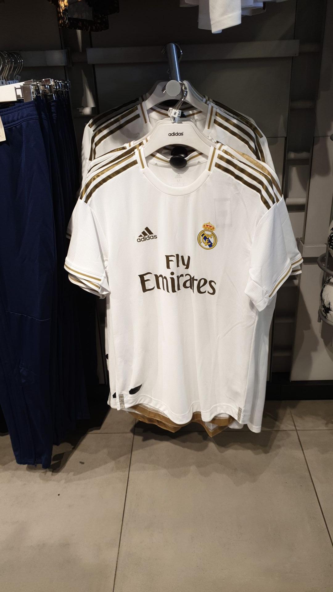 Camiseta Real Madrid 19/20 (Outlet Adidas Las Rozas, Madrid)