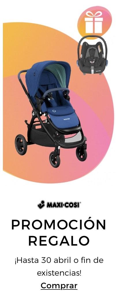 Compra una silla de paseo Maxi-Cosi y llévate de regalo una silla de coche