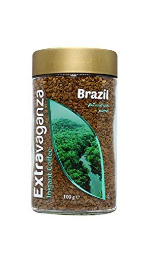 6 botes Extravaganza café soluble Brasil (recurrente)