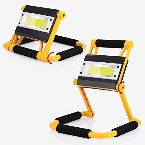 Luz portátil plegable, 20w con batería