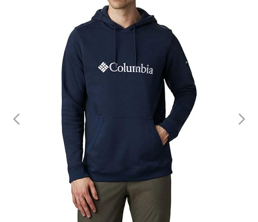 Sudadera Columbia CSC Basic Logo II Hoodie azul oscuro