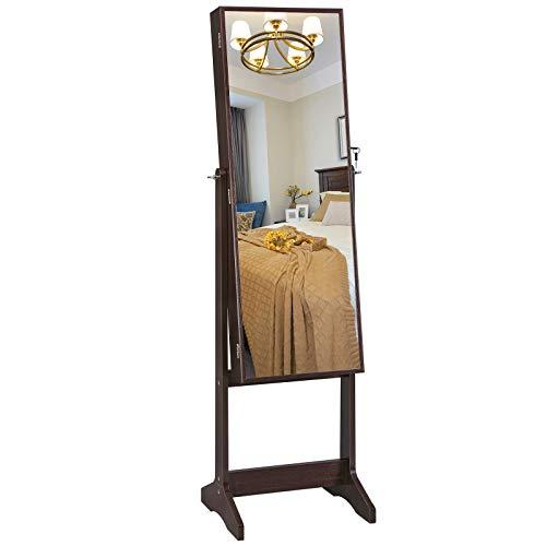 Gabinete joyero y espejo