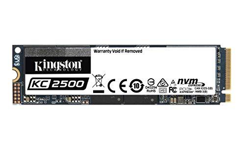 Kingston KC2500 NVMe PCIe SSD 500gb