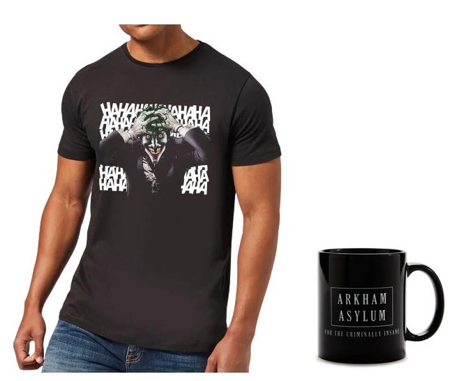 Camiseta + taza Joker Batman solo 12.9€