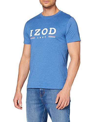 Izod Logo Flag tee Camiseta para Hombre
