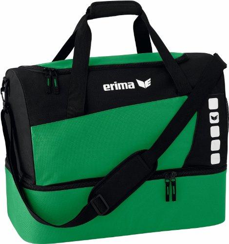 Erima, Bolsa de Deporte, Sporttasche mit Bodenfach, Unisex. Con bolsillo lateral.
