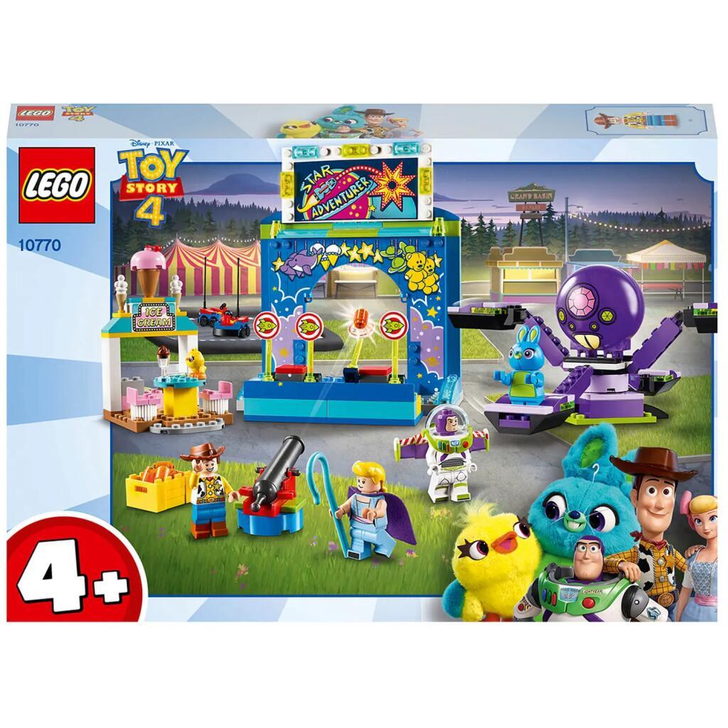 LEGO Toy Story 4: Buzz y Woody: Locos por la Feria