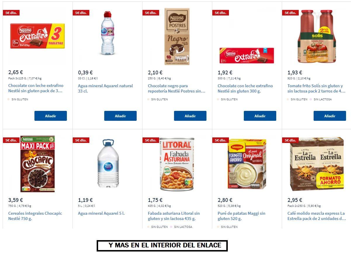 5€ DTO al Gastar 15€ en Seleccionados en Carrefour