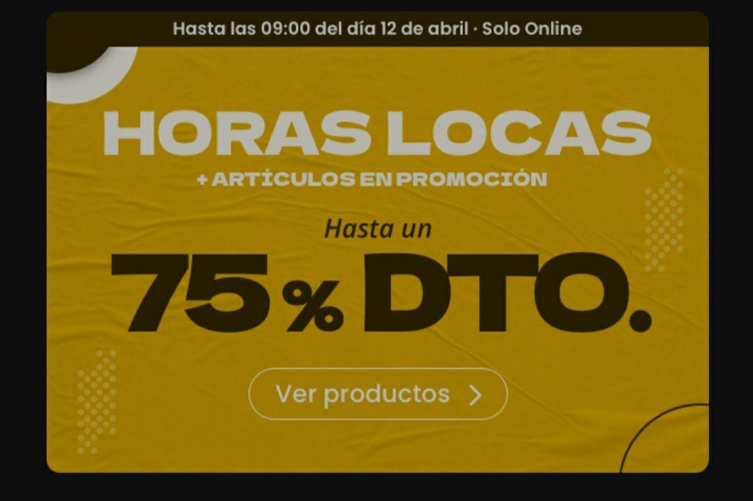 OUTLET Hasta 75% en Wala/ 10€ cupón 1a compra (50€)