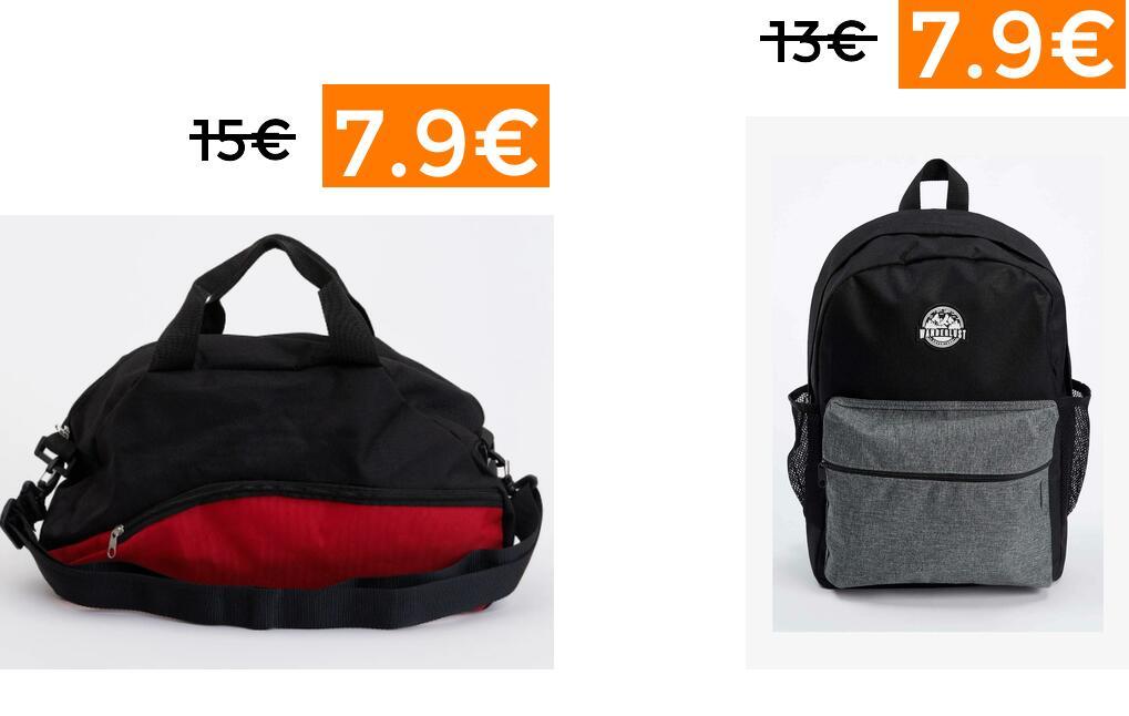 Descuentazos en mochilas y bolsas de viaje DeFacto