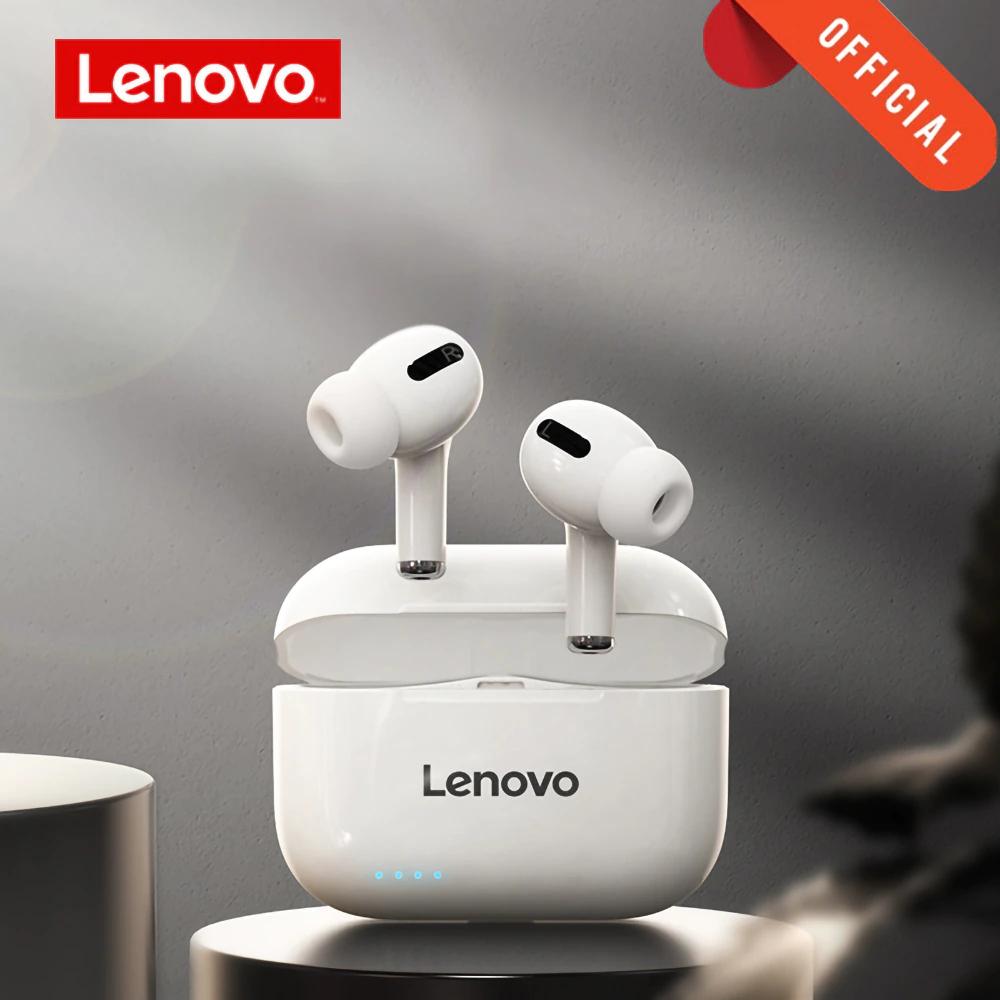 Lenovo-auriculares inalámbricos LP1s