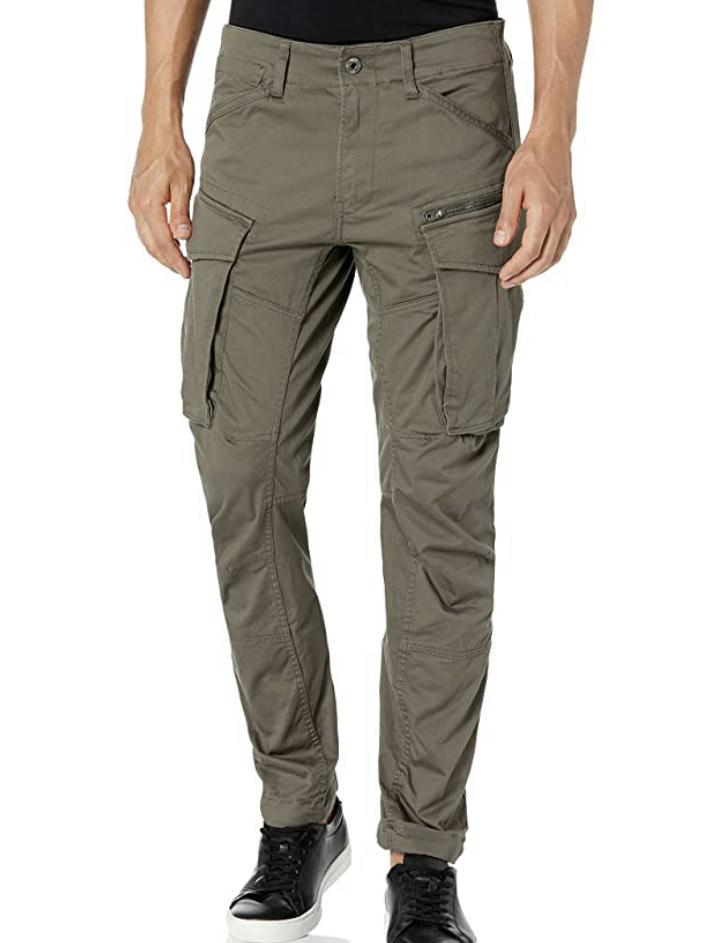 G-STAR RAW Rovic Zip 3D Tapered Pantalones para Hombre