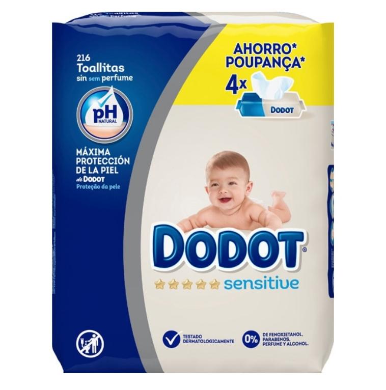 Dodot Sensitive Toallitas 2x1 - Hipercor