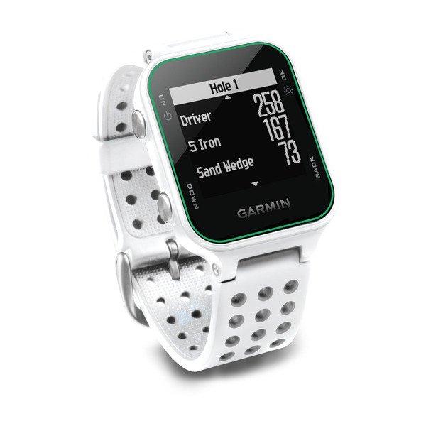 Smartwatch Garmin Approach s20 correa blanca