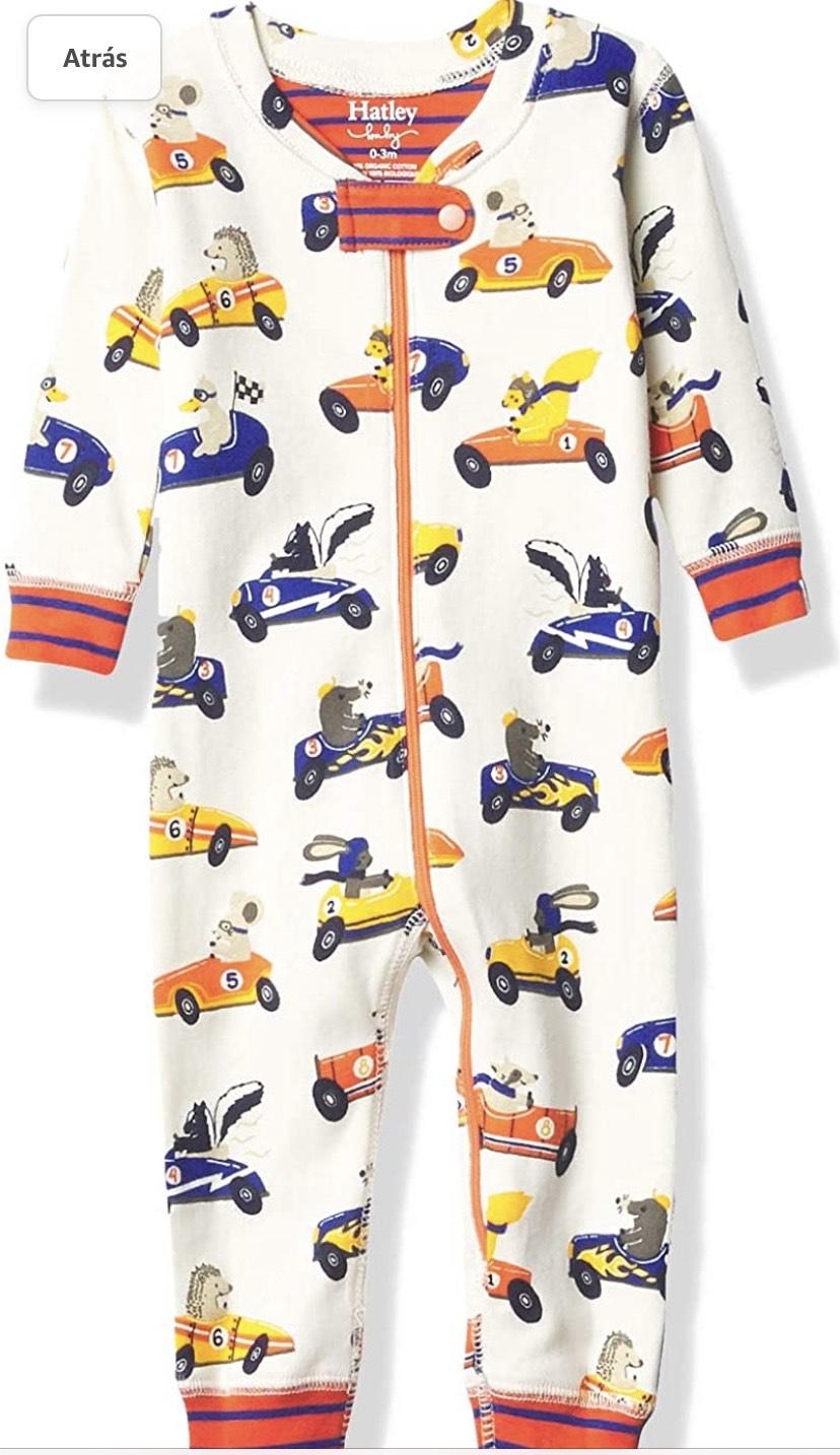 Talla 0/3 meses pijama Hatley Organic Cotton