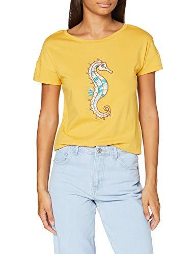 Springfield Camiseta para Mujer talla XS 100% algodon