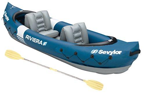 Kayak hinchable para 2 personas