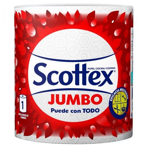3X2 Papel de Cocina Jumbo Scottex