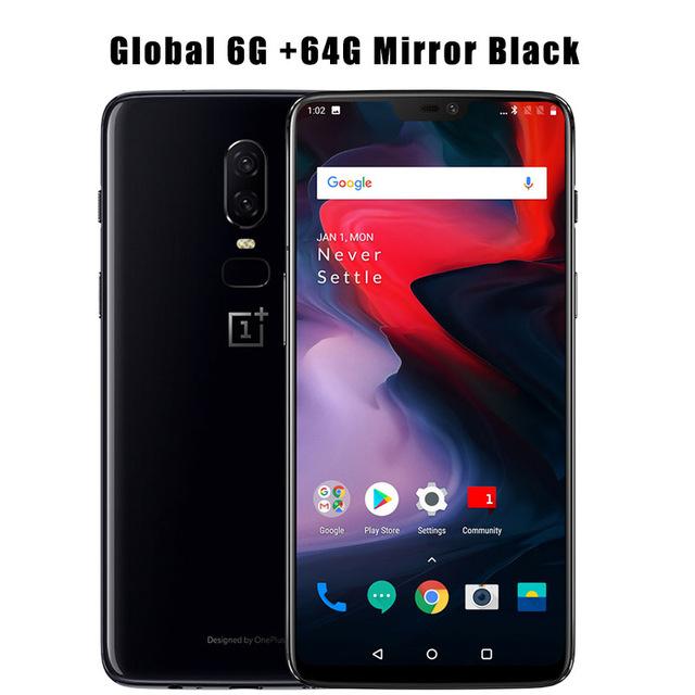 One Plus 6 6/64GB GLOBAL!