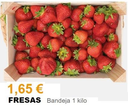 Fresas, 1 Kg - Supermercados Gadis