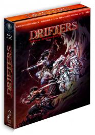 DRIFTERS episodios 1 a 12. Bluray edición coleccionistas
