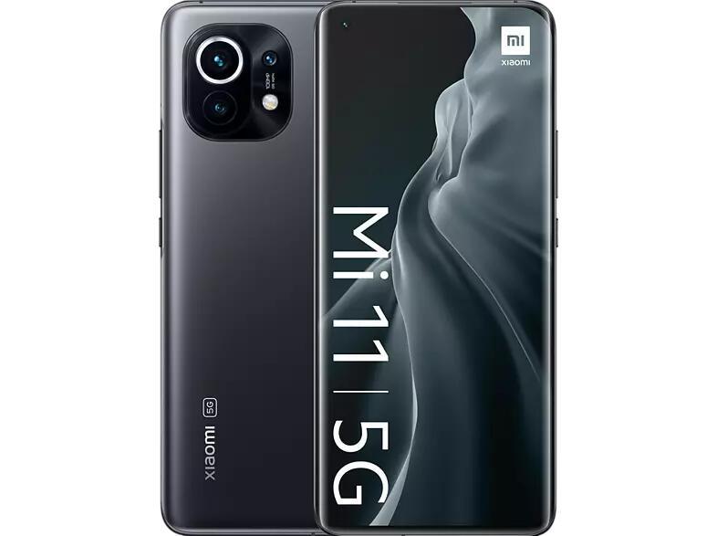 "Xiaomi Mi 11 5G, Negro, 256 GB, 8 GB RAM, 6.81"" WQHD+, Qualcomm® Snapdragon™ 888, 4600 mAh, Android"