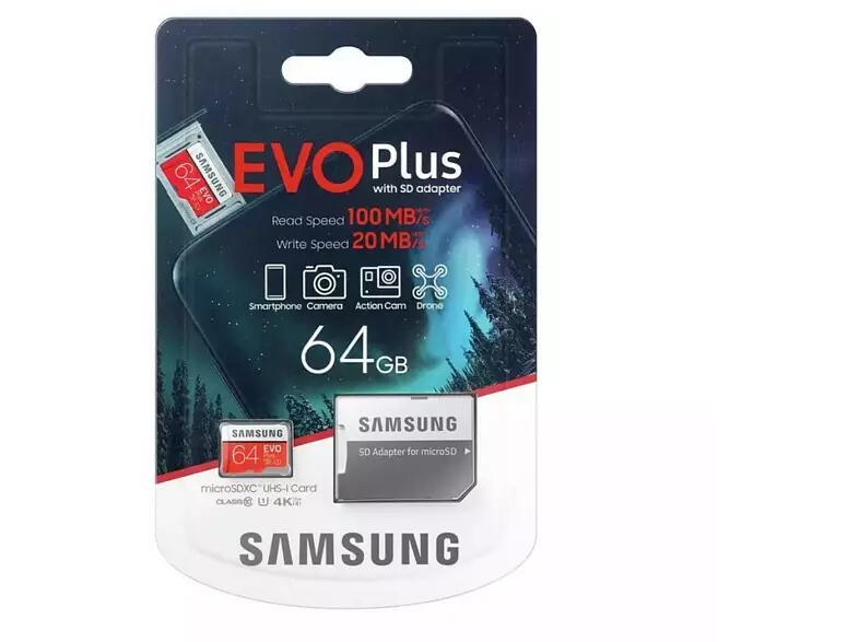 Micro SD Samsung 64GB + adaptador por solo 7,99€