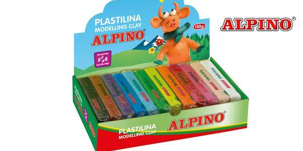 Pack de 24 unidades de Plastilina Alpino,