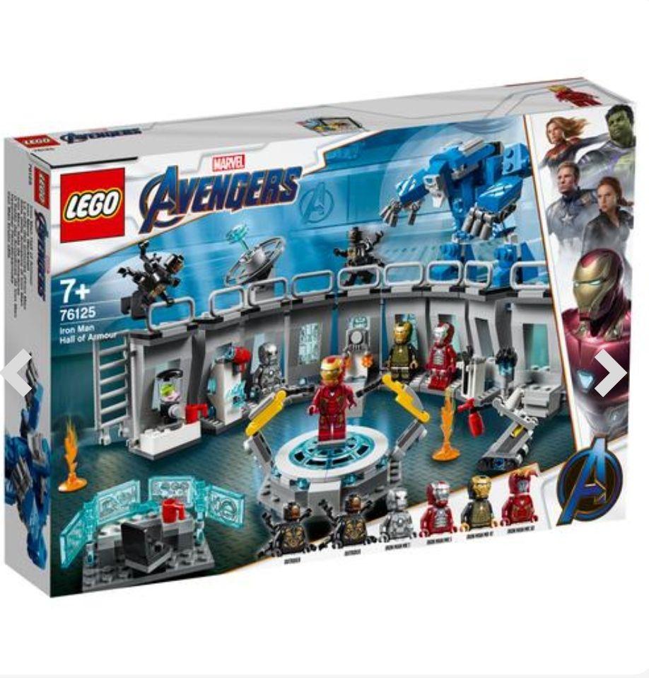 Iron man Sala de armaduras
