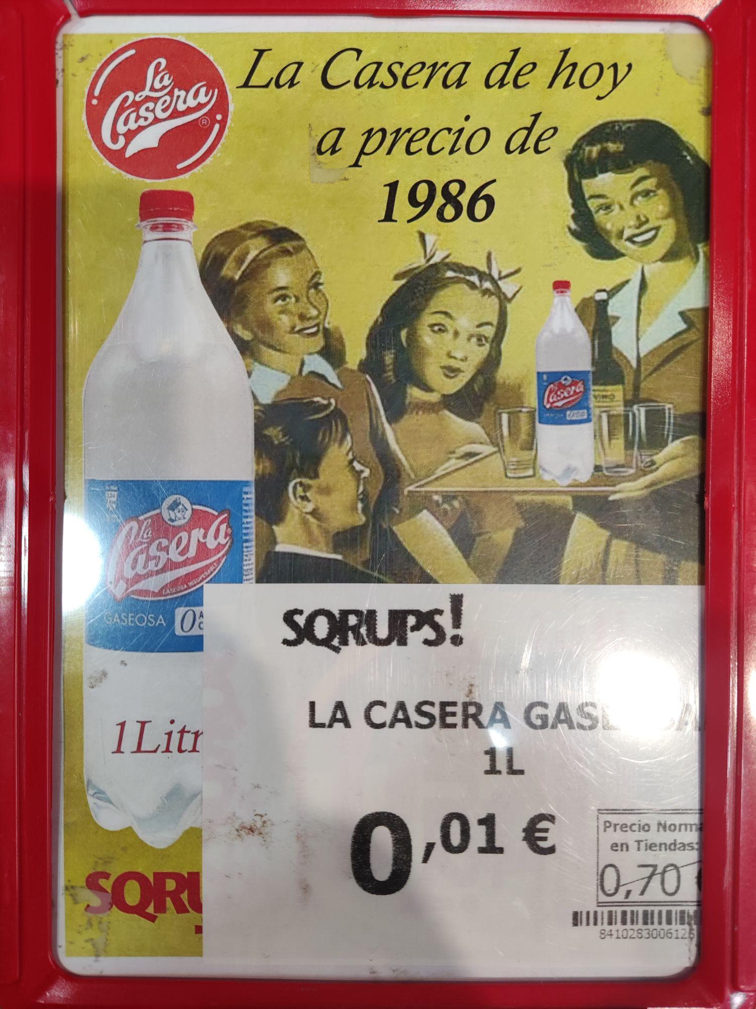 La Casera gaseosa 1L