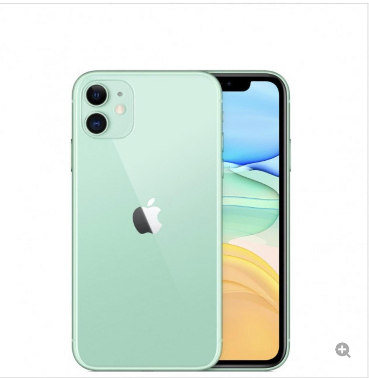 iPhone 11 128 Gb verde lima por 590€