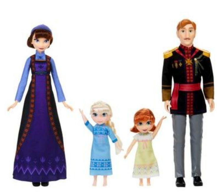 Frozen - Set Muñecos Familia Real