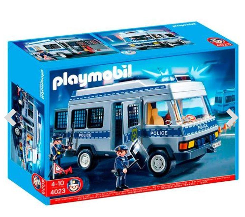 Furgón de policía de Playmobil