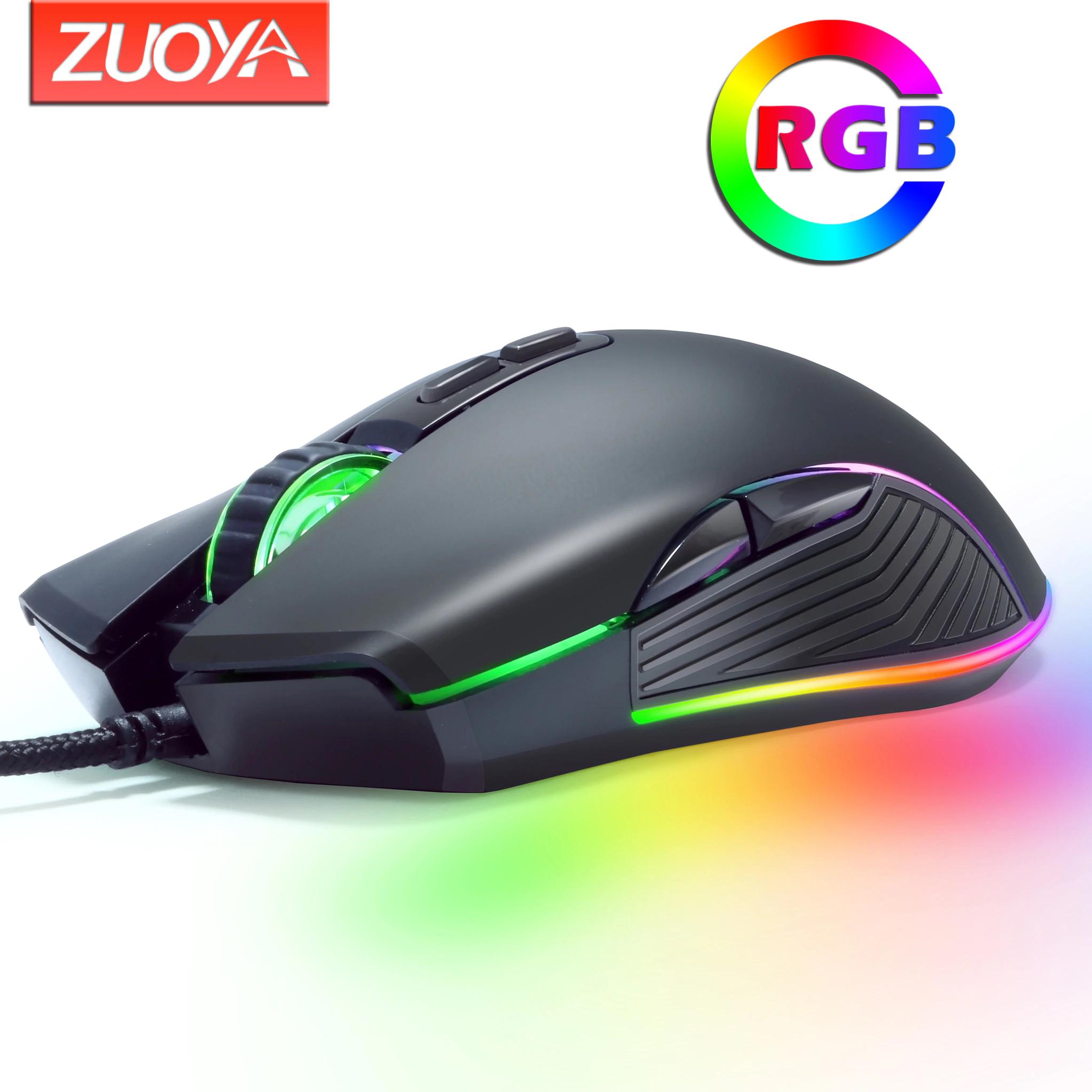 Ratón óptico RGB AT560 3600 DPI