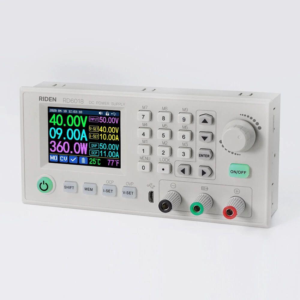 RIDEN® RD6018 RD6018W USB WiFi DC a DC Voltaje Reductor Módulo de fuente de alimentación