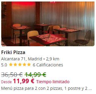 Friki Pizza