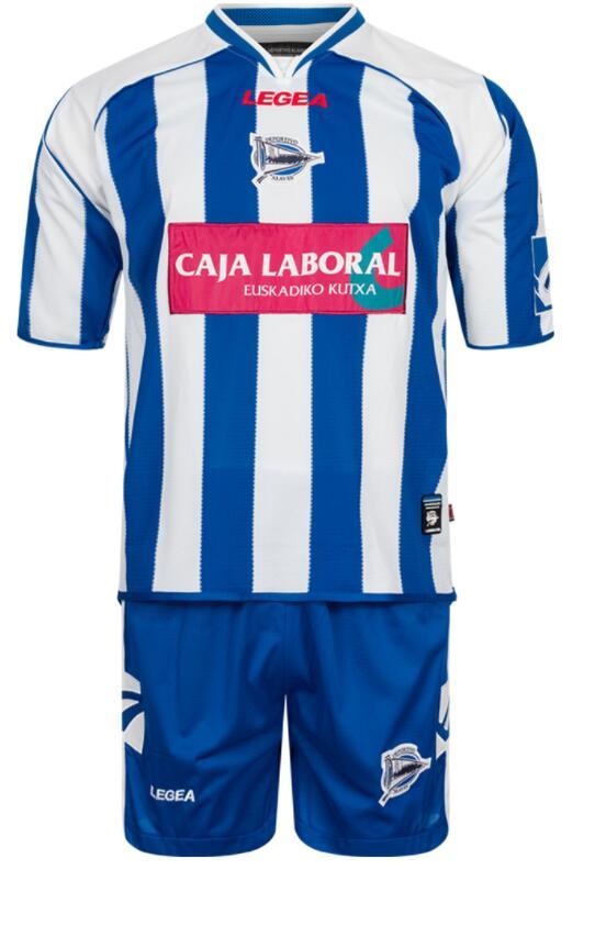 TALLAS M a XL - Equipacion Completa del Deportivo Alaves (Pantalón + Camiseta)
