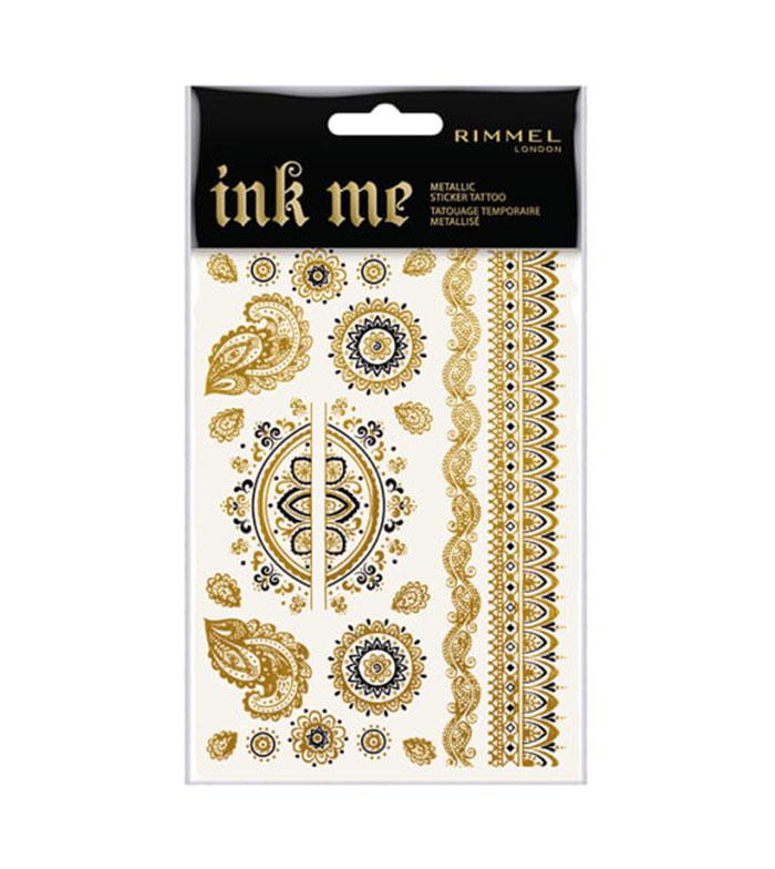 Rimmel London - *Ink Me* - Tattoos temporales metalizados