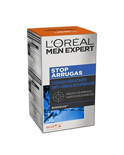 L'Oreal Paris Men Expert - Cuidado hidratante anti-arrugas de expresión Stop Arrugas