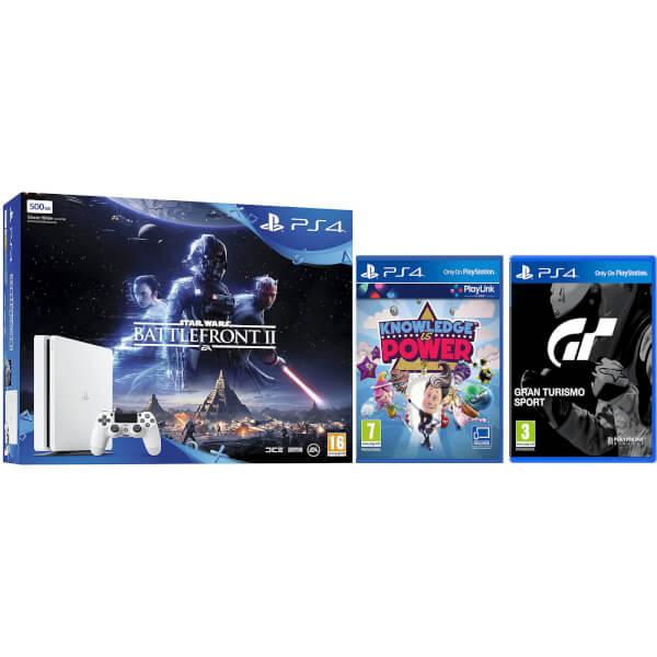 Pack PS4 500 GB + 3 juegos actuales por sólo 236€