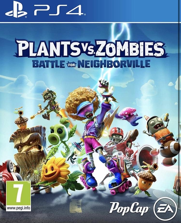 Planta VS Zombies: Battle for Neighborville PS4