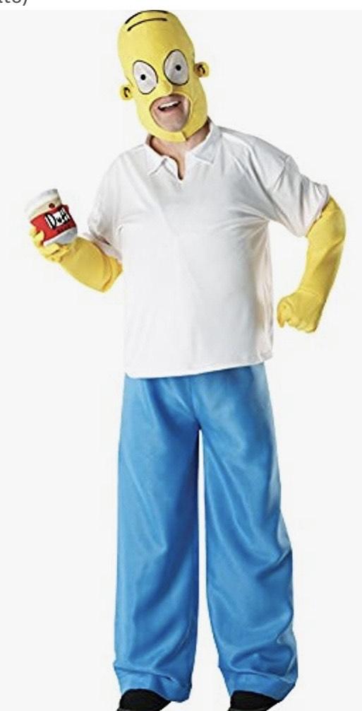 Disfraz de Homer talla XL