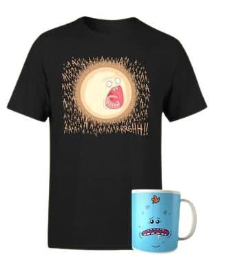 Rick y Morty Camiseta+Taza solo 12.9€