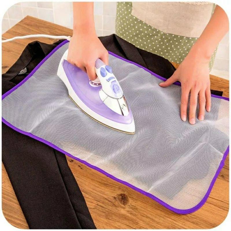 Protector de planchar para prendas delicadas