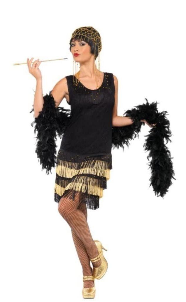 Disfraz mujer años 20. Talla 36-38