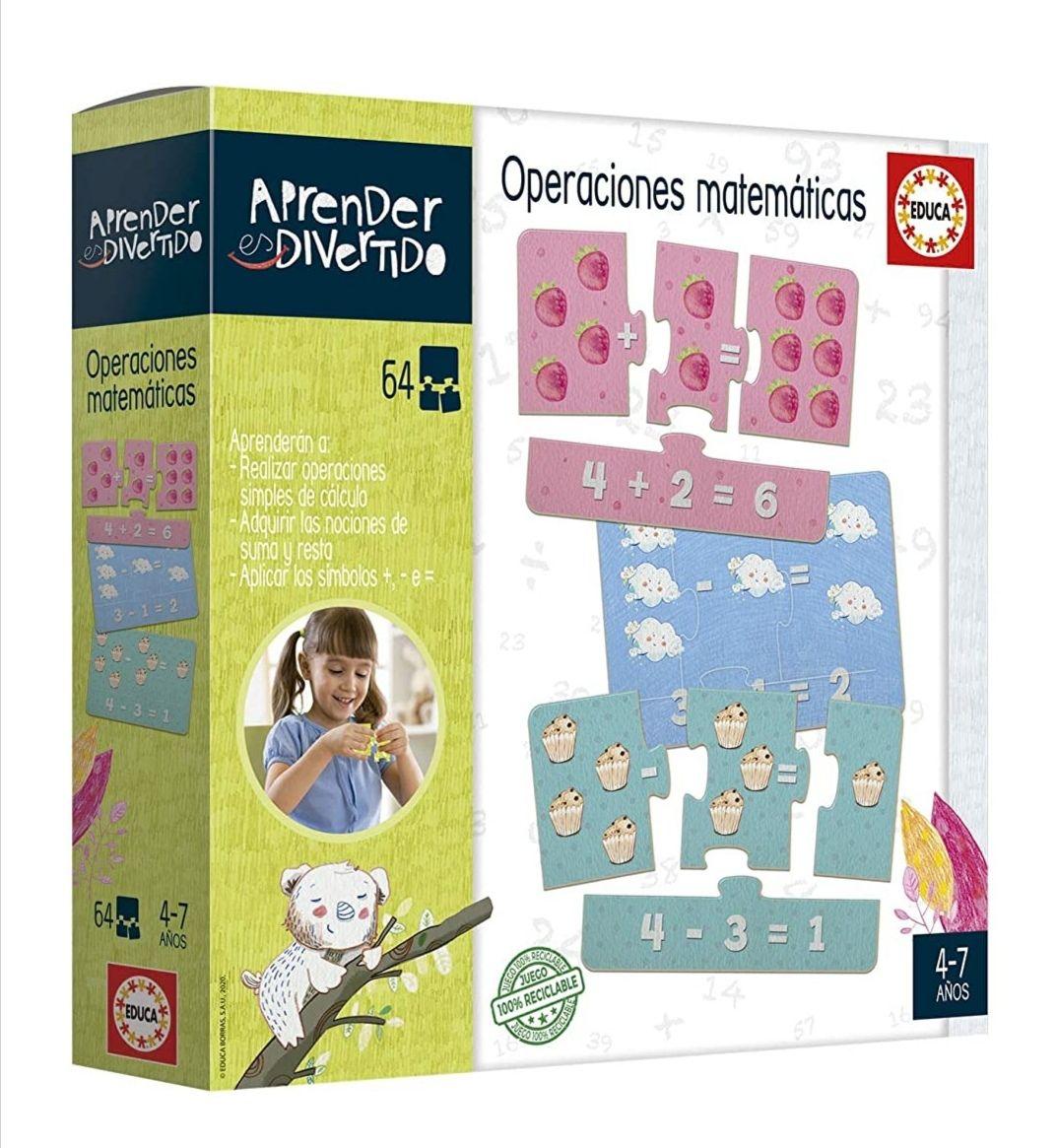 EDUCA Juego para niñ@s: Operaciones matemáticas