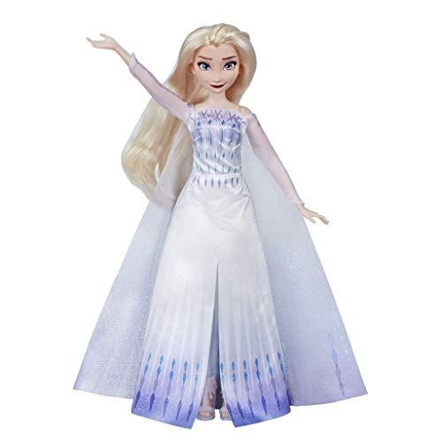 FROZEN 2 Muñeca Elsa aventura musical (Anna al mismo precio en la descripción)