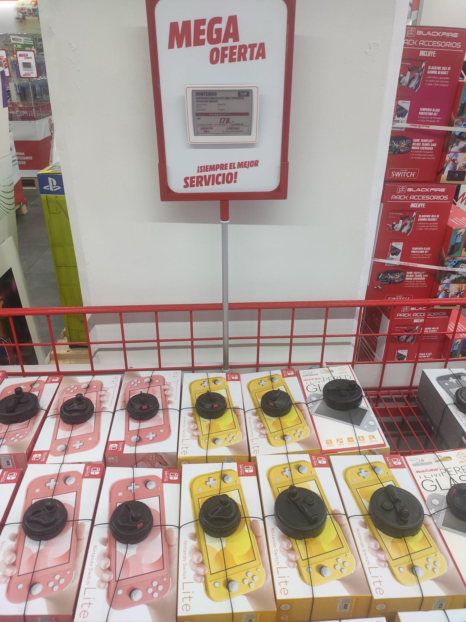 Nintendo Switch Lite Mediamarkt Sol (Madrid)