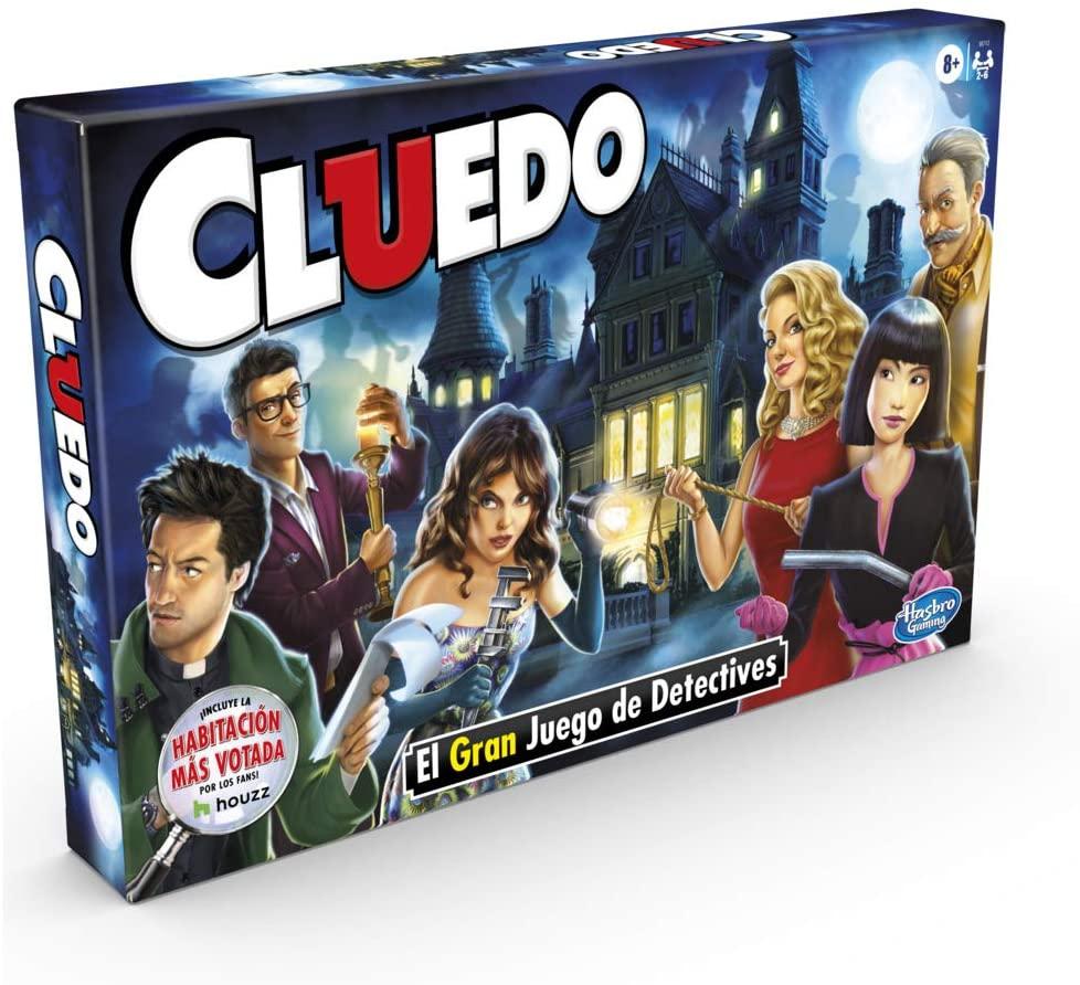 Hasbro Cluedo Juego de Mesa solo 16.2€ [Al tramitar]